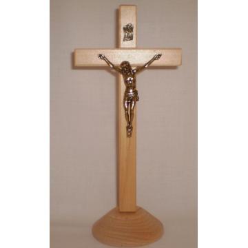 Cruce pe talpa, culoare lemn natur, 20 cm