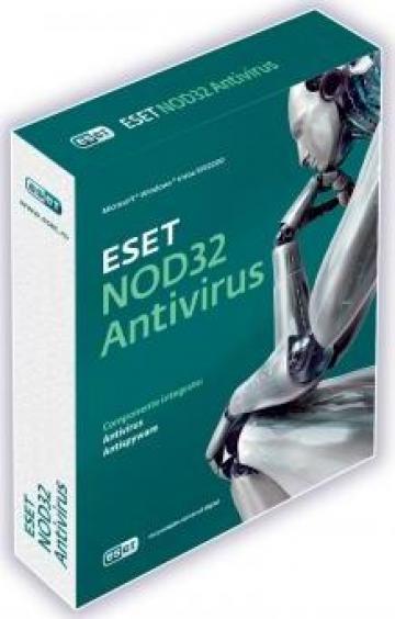 Antivirus Eset Nod32 + Antispyware de la Crucial Systems & Services S.r.l.