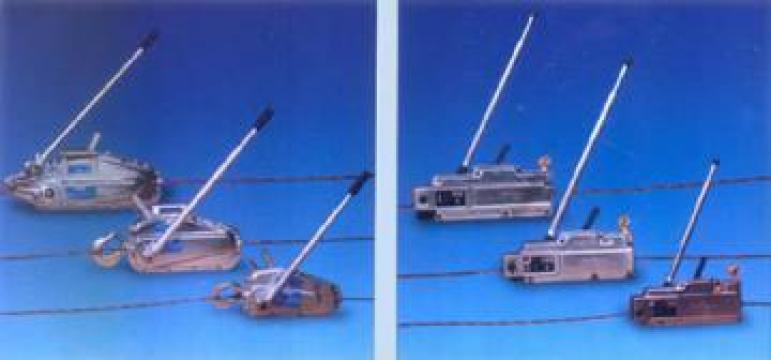 Troliu manual de la Kinetech Industry Srl