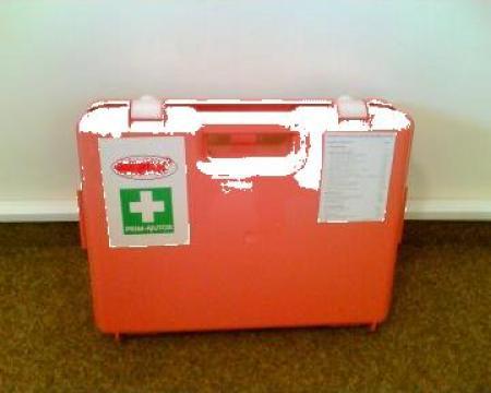 Trusa sanitara de prim ajutor de la Robeco Express