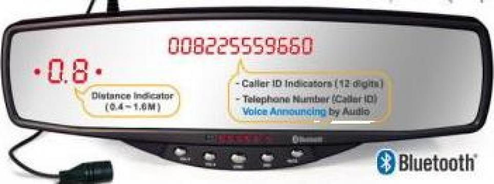 Carkit Bluetooth Oglinda de la Blueautokey Srl