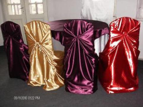 Husa pentru decoratiuni scaune nunti de la Protop Com Srl