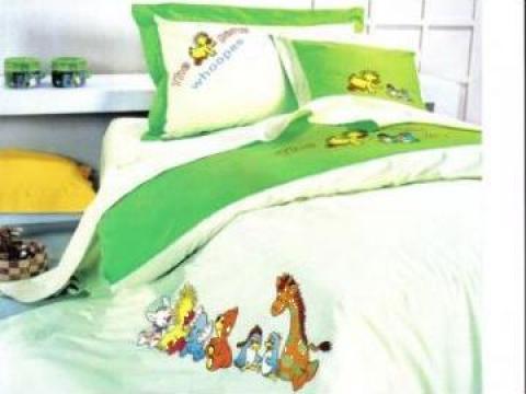 Set lenjerie pat copii de la La-ttif