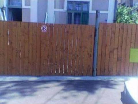 Garduri din lemn de la Edisze