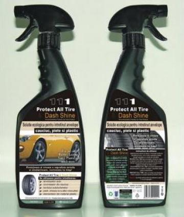 Solutie intretinere anvelope Protect Tire & Dash Shine