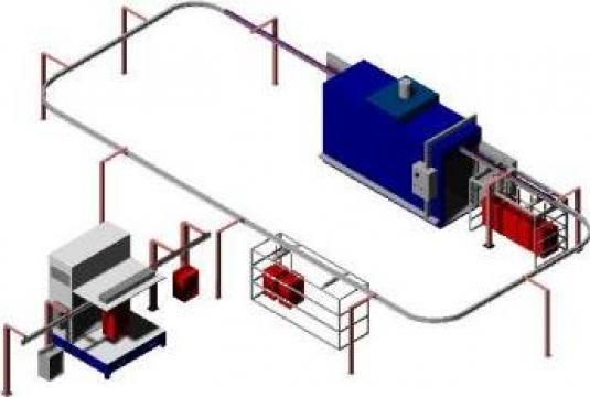 Vopsitorii in camp electrostatic de la Sc Brio Fresh Srl