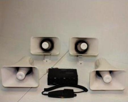 Megafon 100W pentru campanie electorala de la Flashalarm Electric