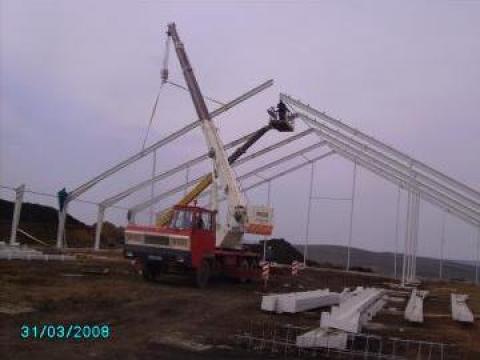 Structuri constructii de hale