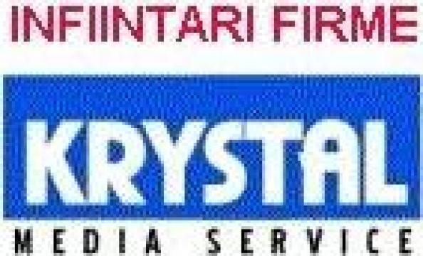 Infiintari firme / suspendari de la Krystal Media Service