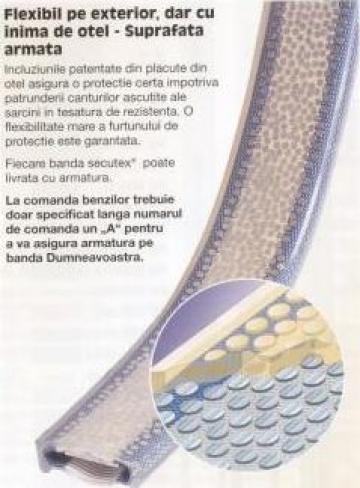 Protectie chinga cu insertie de banuti metalici