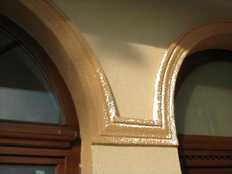 Ancadrament geam polistiren expandat 25-30 kg de la Sc Blu Art Design Srl