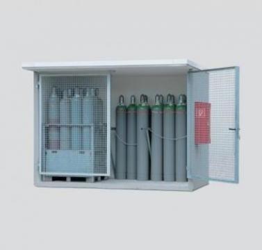 Container depozitare butelii de gaz