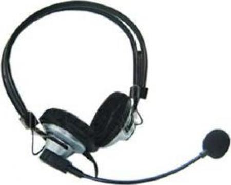 Casti PC Headset + Microfon 602 de la Makant Europe Gmbh & Co Kg