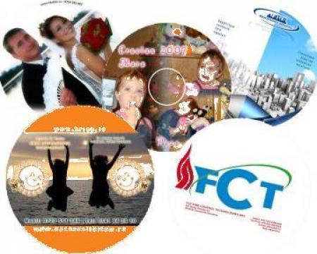 Imprimare, personalizare CD-uri/DVD-uri de la Sian Image Media Srl