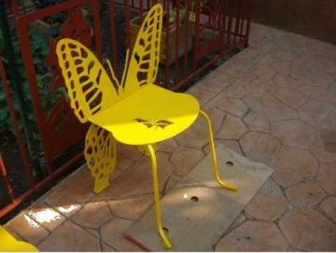 Scaun de gradina fluture de la Metaplas