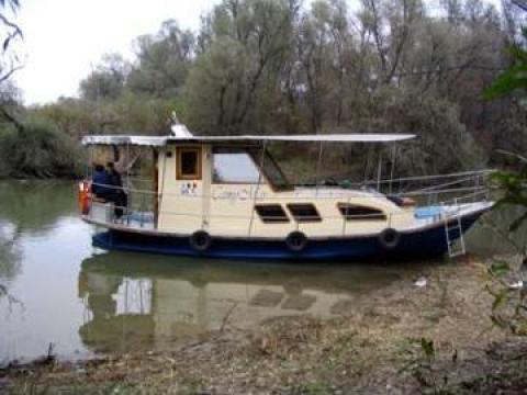 Excursie in Delta Dunarii cu vaporasul de la Sc Camymar Srl