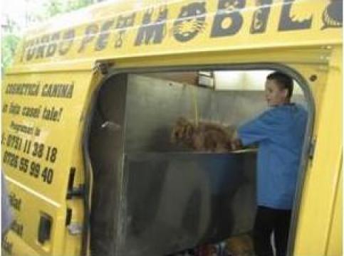 Servicii coafor canin mobil de la Turbo vet 2003S.R.L.