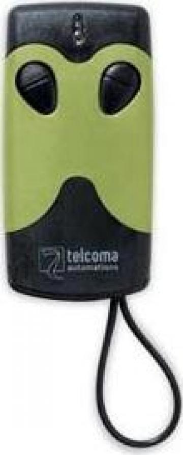 Mini telecomanda doua canale Telcoma saritor modulare FM