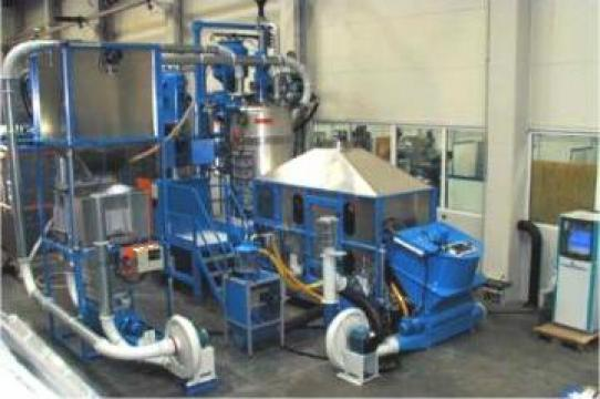 Fabrica de polistiren expandat de la Tecno Mecanica Ind. - T.m.i. Srl.