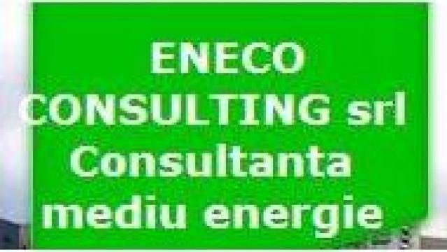 Consultanta de mediu, analize combustibili, factor emisie de la Eneco Consulting Srl