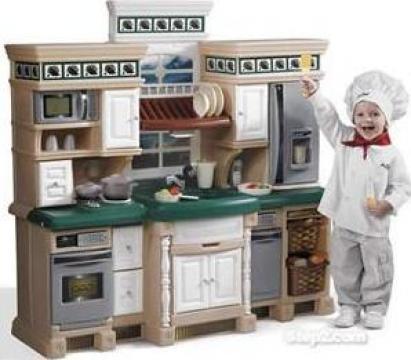 Jucarie Bucatarie fetite Deluxe Kitchen de la Stiki Concept Srl