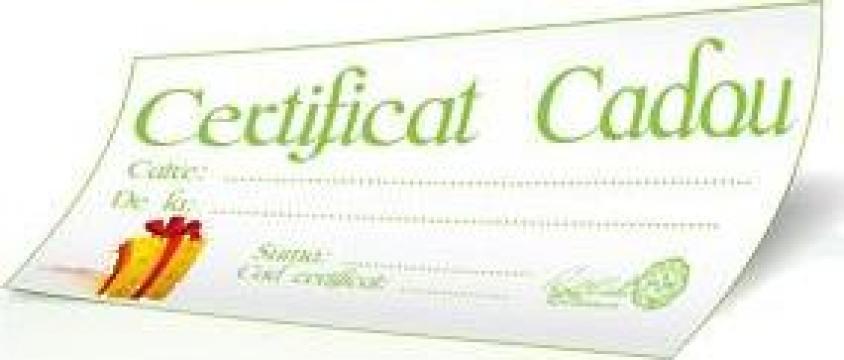Voucher, Certificat Cadou de la ZaGift