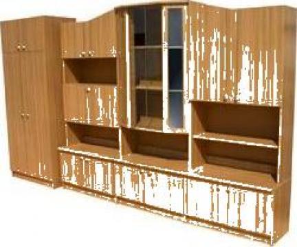 Mobilier biblioteca - sufragerie de la Cosmirom Srl