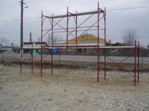 Schela metalica pasarela de la DD Util Construct