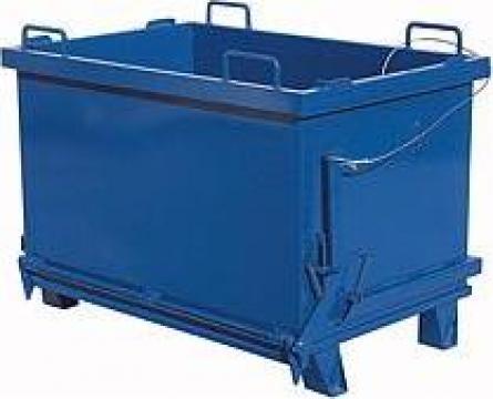 Container cu sistem de golire inferioara