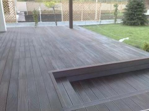 Parchet lemn Deck cumaru