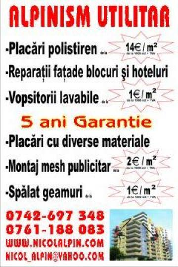 Mesh-uri pentru publicitate de la Nicol Alpin Srl.