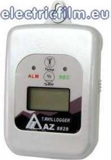 Inregistrator de temperatura si umiditate cu lcd 8829