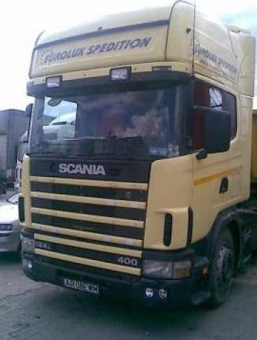 Camion Scania de la Euroluk Spedition