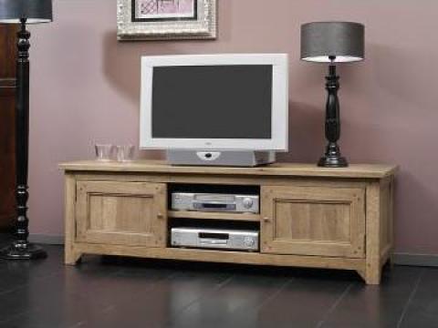 Comoda TV - lemn stejar masiv de la Sc Unilemn D&G Srl