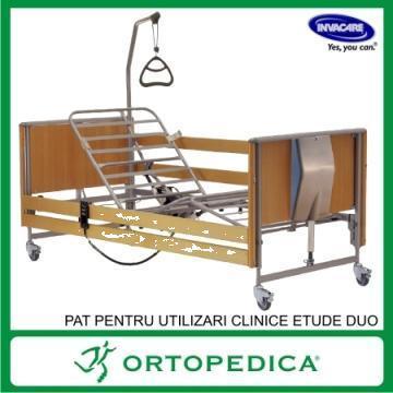 Pat pentru utilizari clinice cu reglare electrica etude duo de la Ortopedica