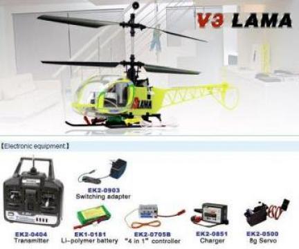 Jucarii: Elicopter cu telecomanda radio, Lama V3 de la Axa House Design