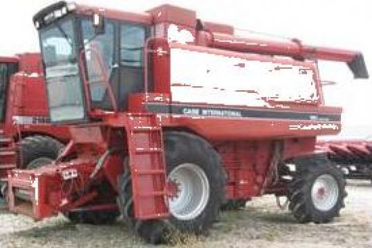 Combina agricola import Franta de la Sc Iasen Garden Srl