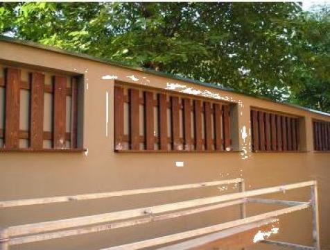 Garduri lemn uscate speciale