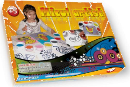Jucarii educative Micul Artist de la Comy Import & Distribution