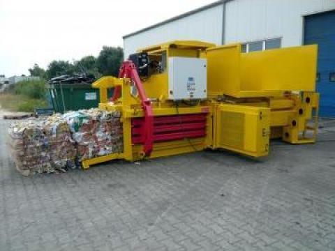 Prese de balotat automate canal Albamat de la Sc Schuster Recycling Technology Srl