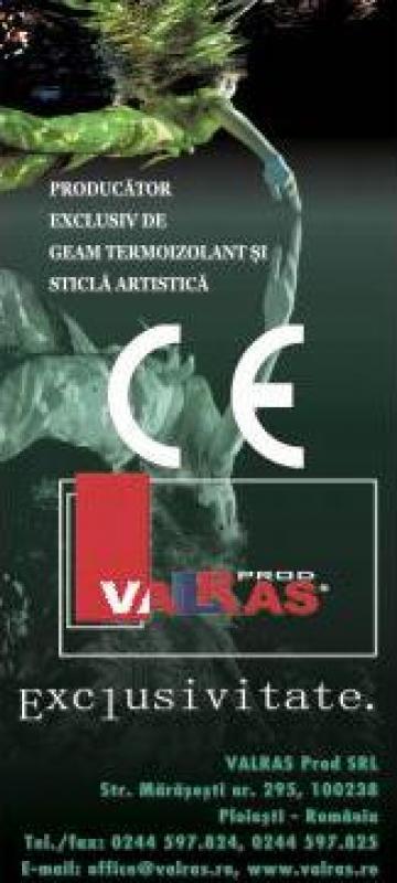 Geam termoizolant/ pereti cortina de la Valras Prod S.r.l.
