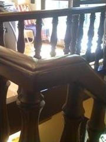 Balustrada din lemn stejar sau fag de la Prod Com Sighet Srl