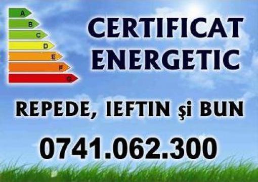 Certificat energetic pentru cladire/ apartament de la I.I. Rusu Valentin