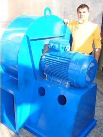 Ventilator centrifugal Q=20000 mc/h, H=400 mmCA, P=30 Kw de la SC As Consult SRL