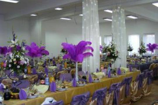 Decoratiuni evenimente festive nunti, botezuri de la Nunta De La A La Z