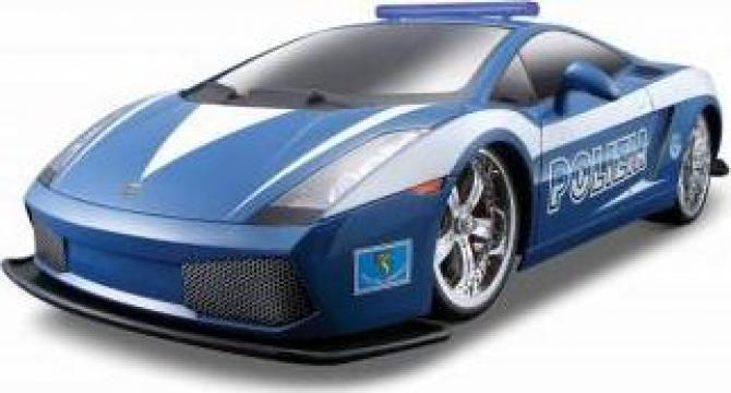 Macheta masina de jucarie Lamborghini Gallardo Politia