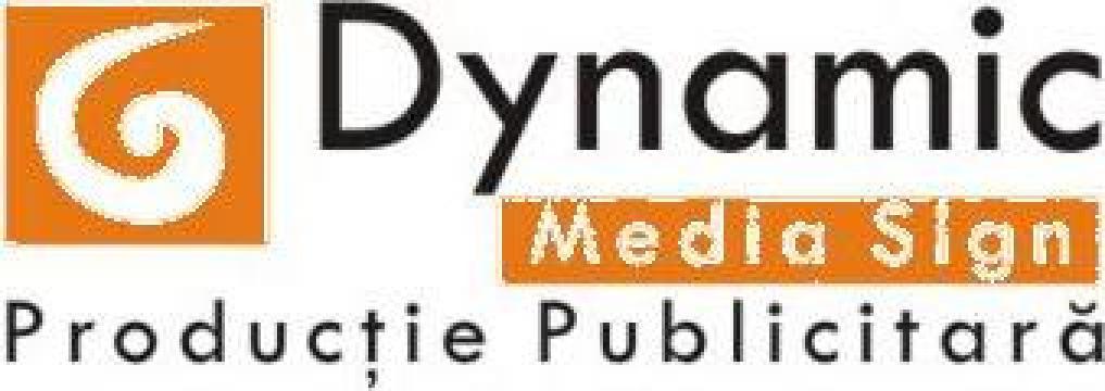 Bannere, mesh, casete luminoase, totem-uri de la Dynamic Media Sign Srl