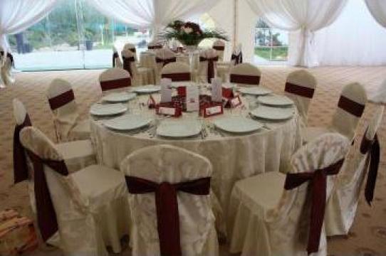 Decoratiuni sala evenimente, nunti, botezuri, mese festive de la Cufarul De Flori