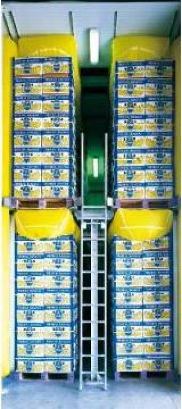 Echipare depozit pentru coacere banane