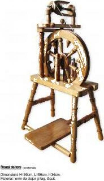 Roata de tors / Spinning wheel